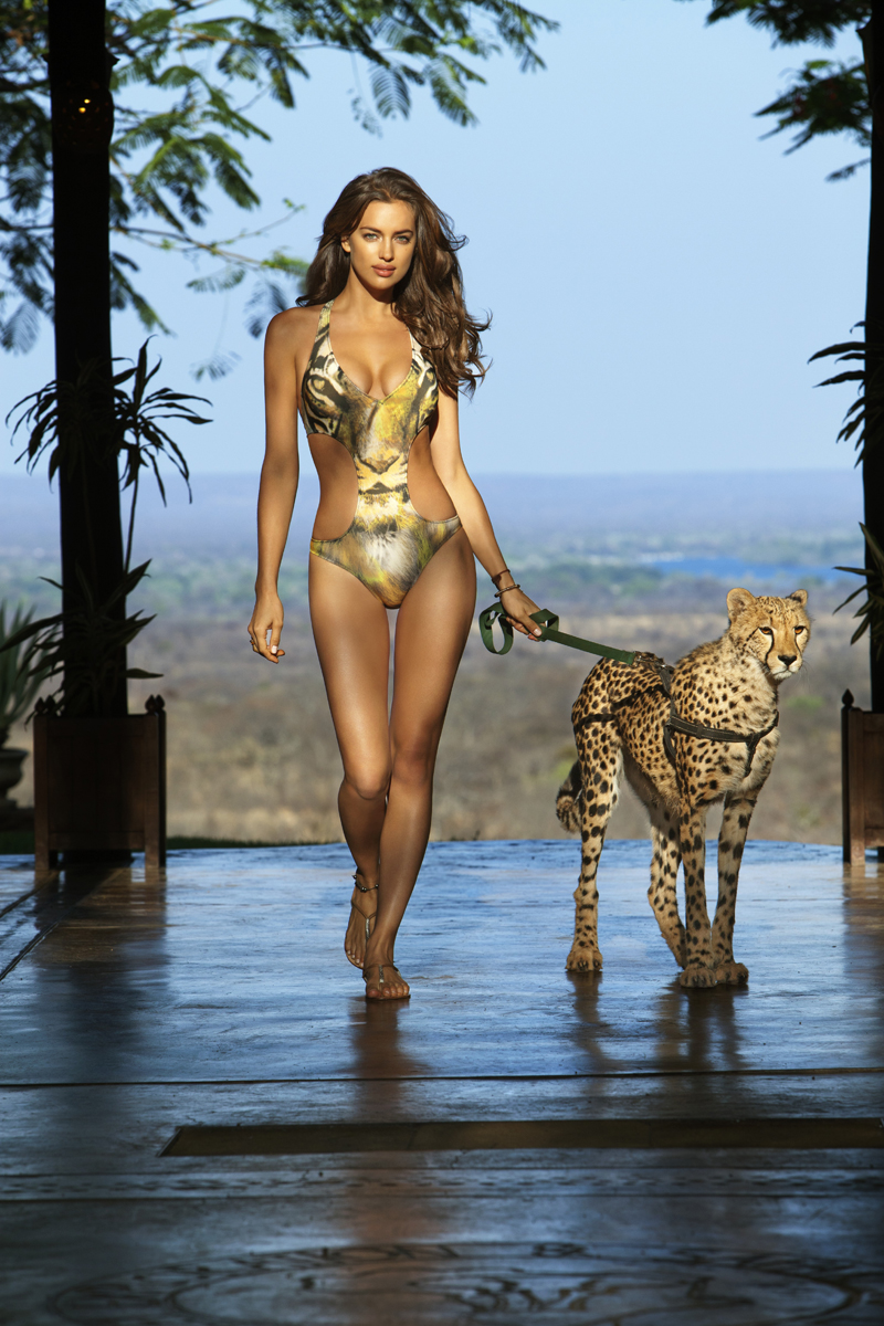 Irina Shayk :: Zambia, SI Swimsuit 2012