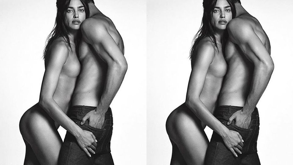 Irina Shayk for Givenchy Jeans