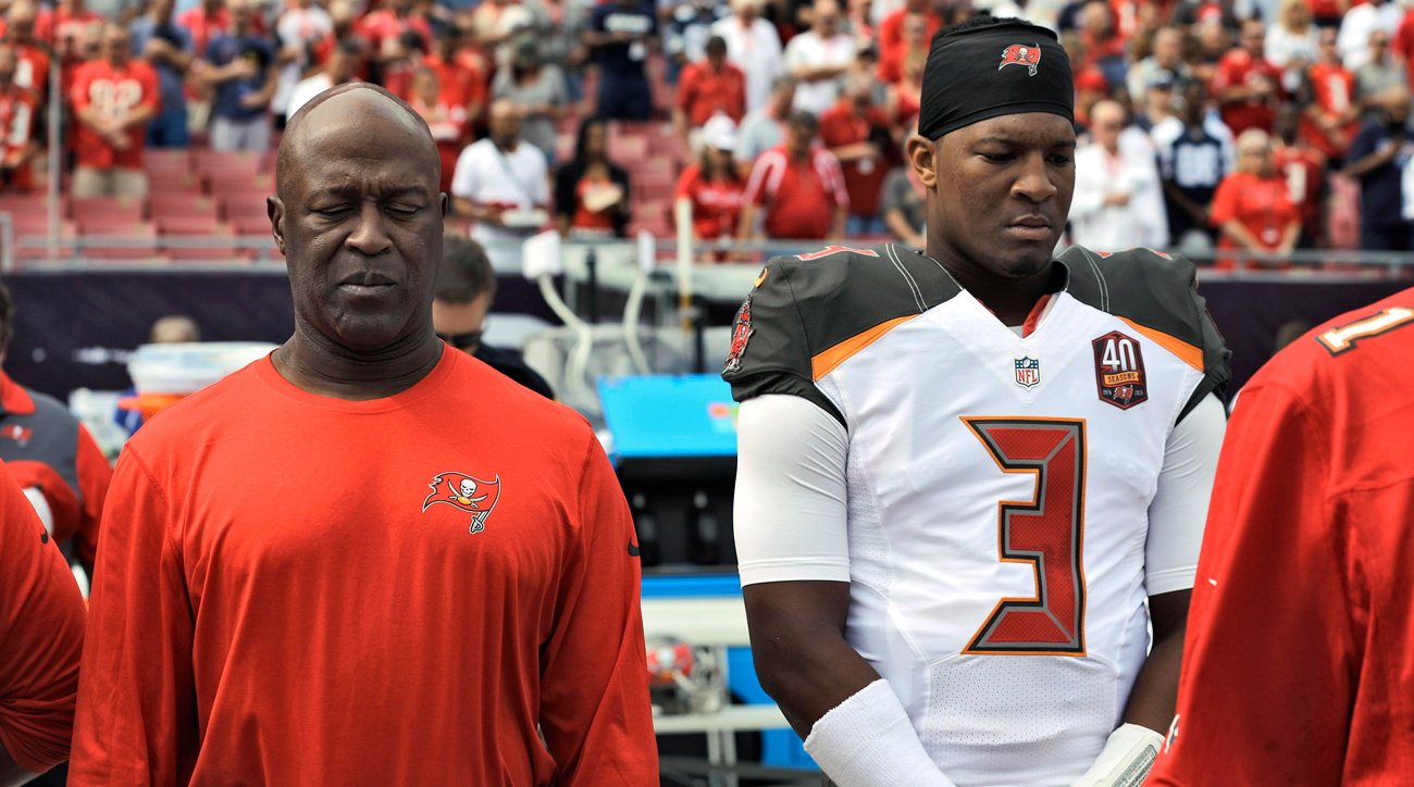 Lovie Smith ushered in the Winston era but was ushered out at the end of the season.