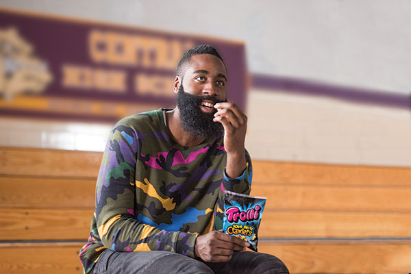 James Harden :: Courtesy of Trolli