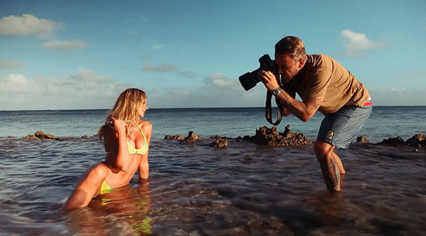 7245312042226 James Macari has the dream job as a SI Swimsuit photographer
