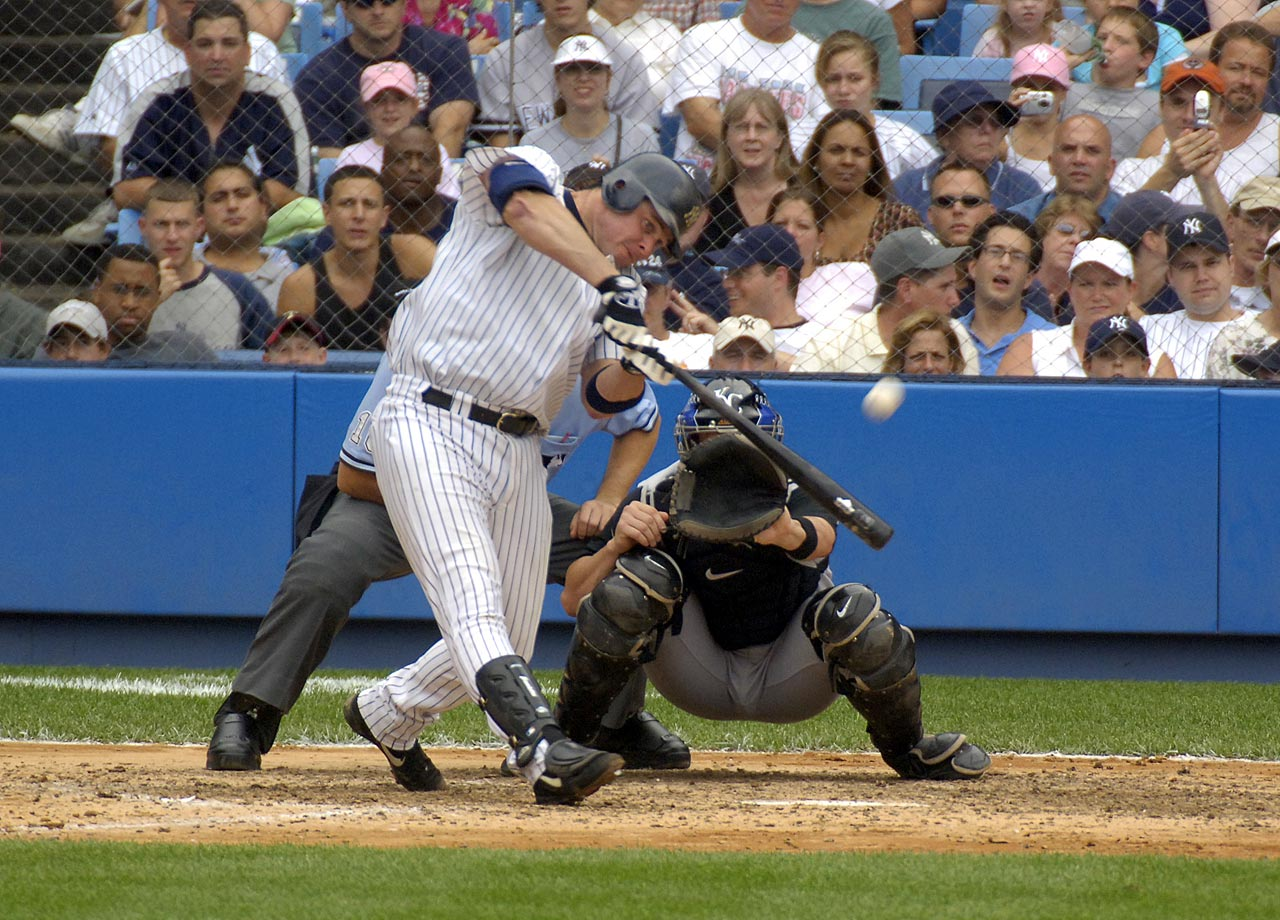 Giambi won the AL MVP with the Oakland A's in 2001, then bolted for the Bronx. The Yankees won only one pennant and no World Series with Giambi, who was one of a number of athletes who testified in the BALCO probe.