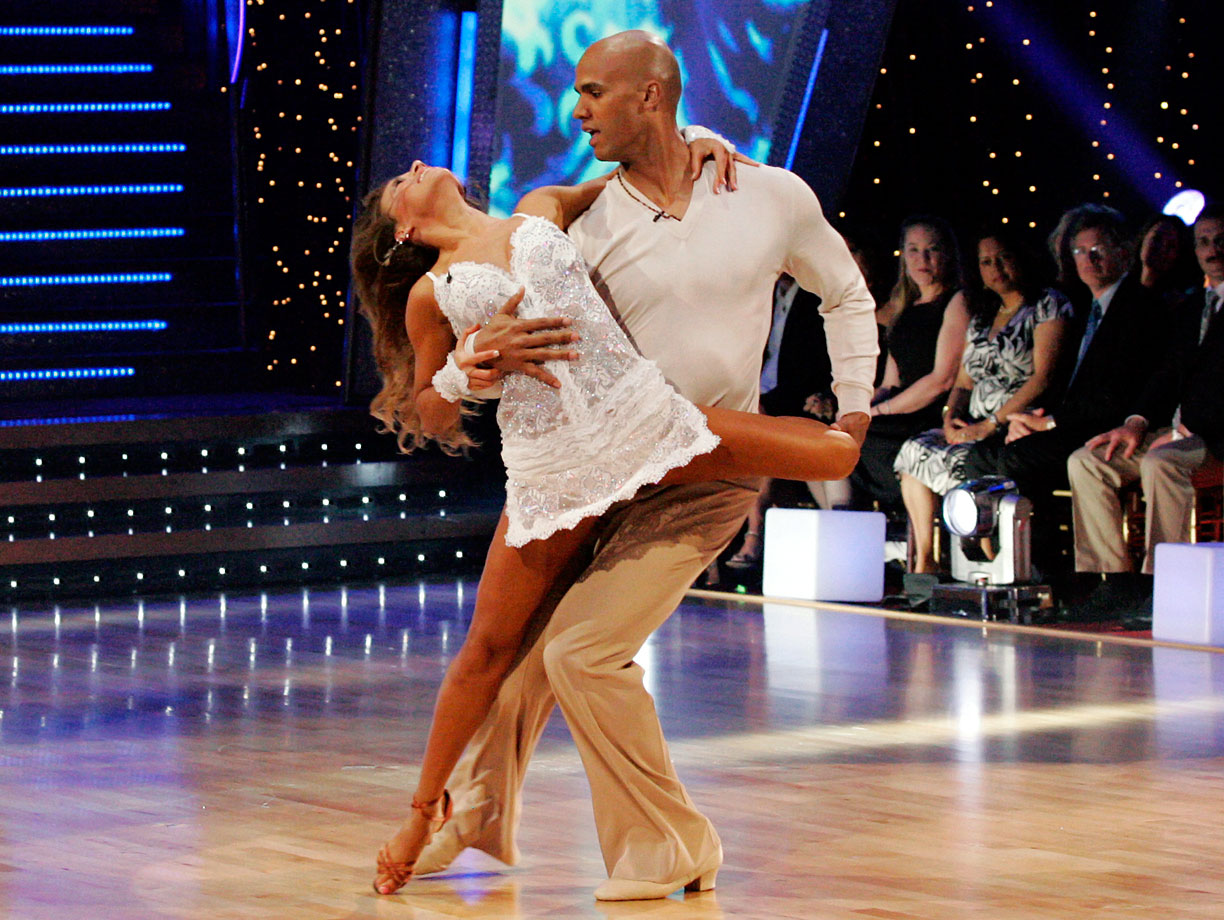 Miami Dolphins defensive end Jason Taylor finished in 2nd place with dancing partner Edyta Sliwinska in Season 6.