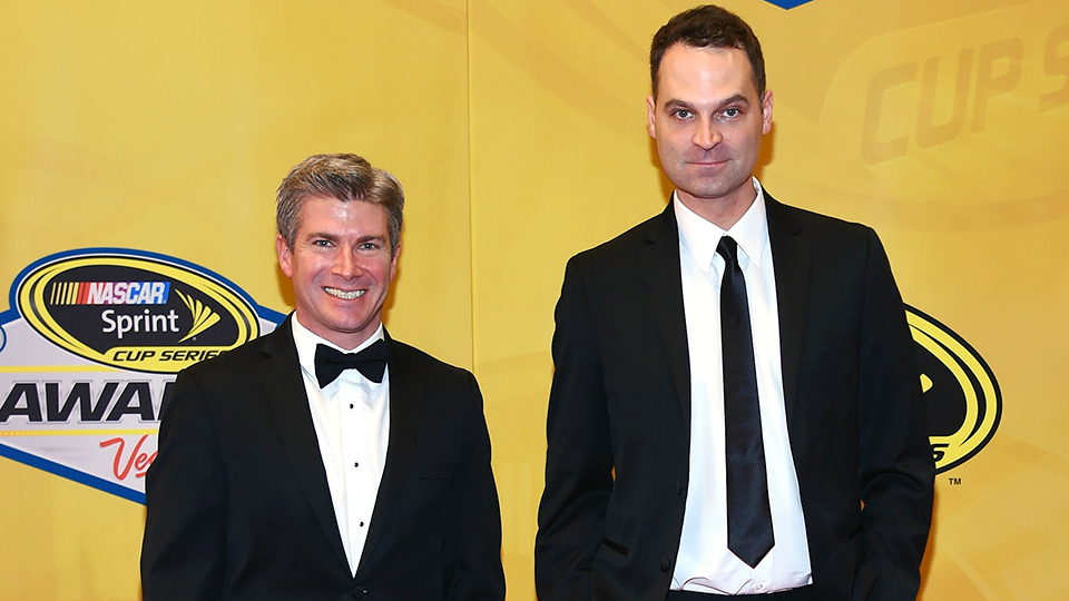 Jay Onrait (right) with his FS1 co-host Dan O'Toole.