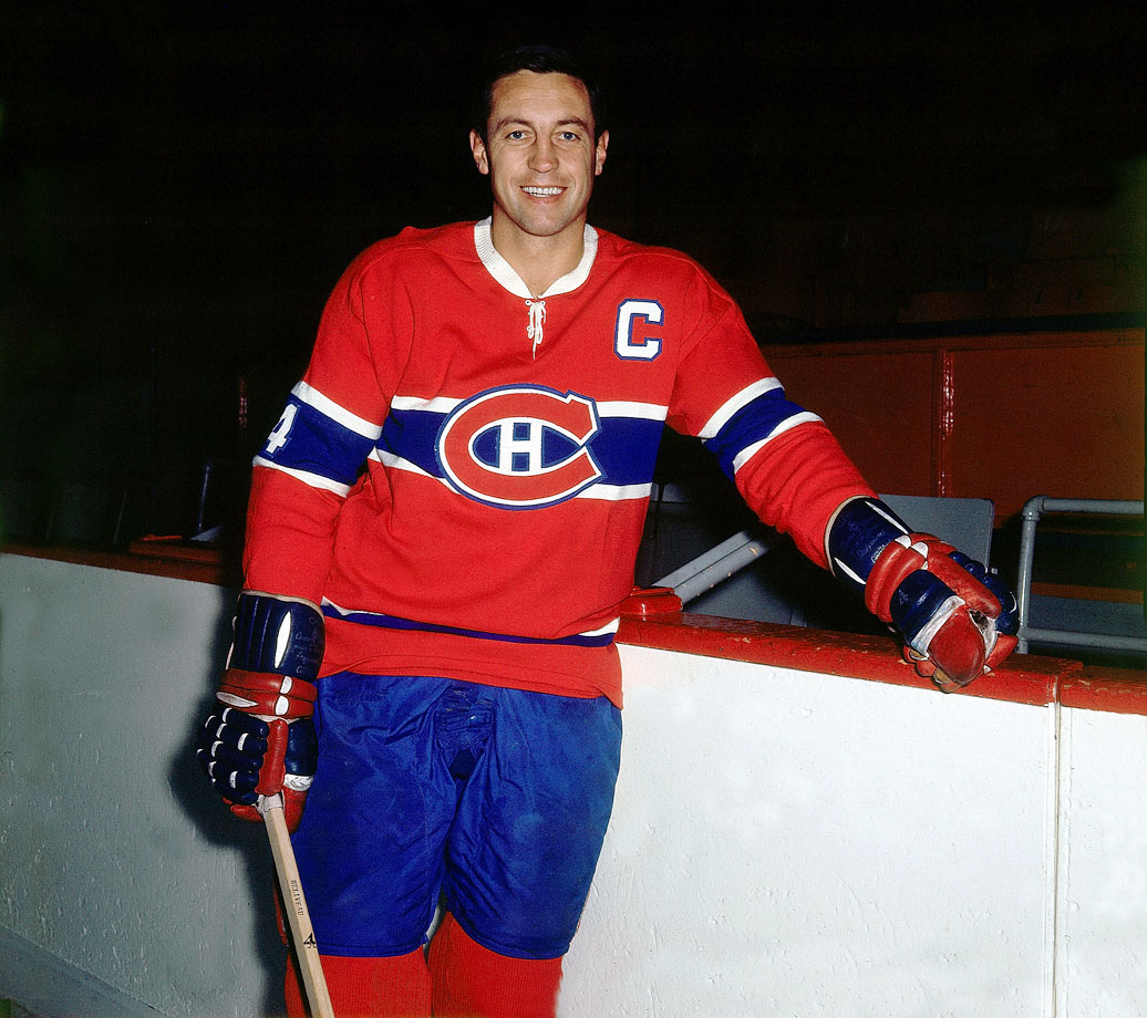 The Hockey Hall of Famer in 1970.