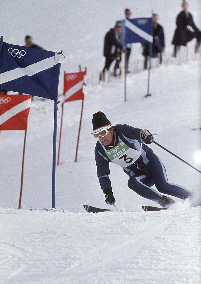 "This French ski legend won the ""Triple Crown"" of alpine skiing sweeping all three races in Grenoble at the age of 24. He's only the second skier after Toni Sailer to win all three events at one Winter Olympics. --  Brian Pinelli. (SEE THE COMPLETE LIST OF 50 AT THEACTIVETIMES.COM)"