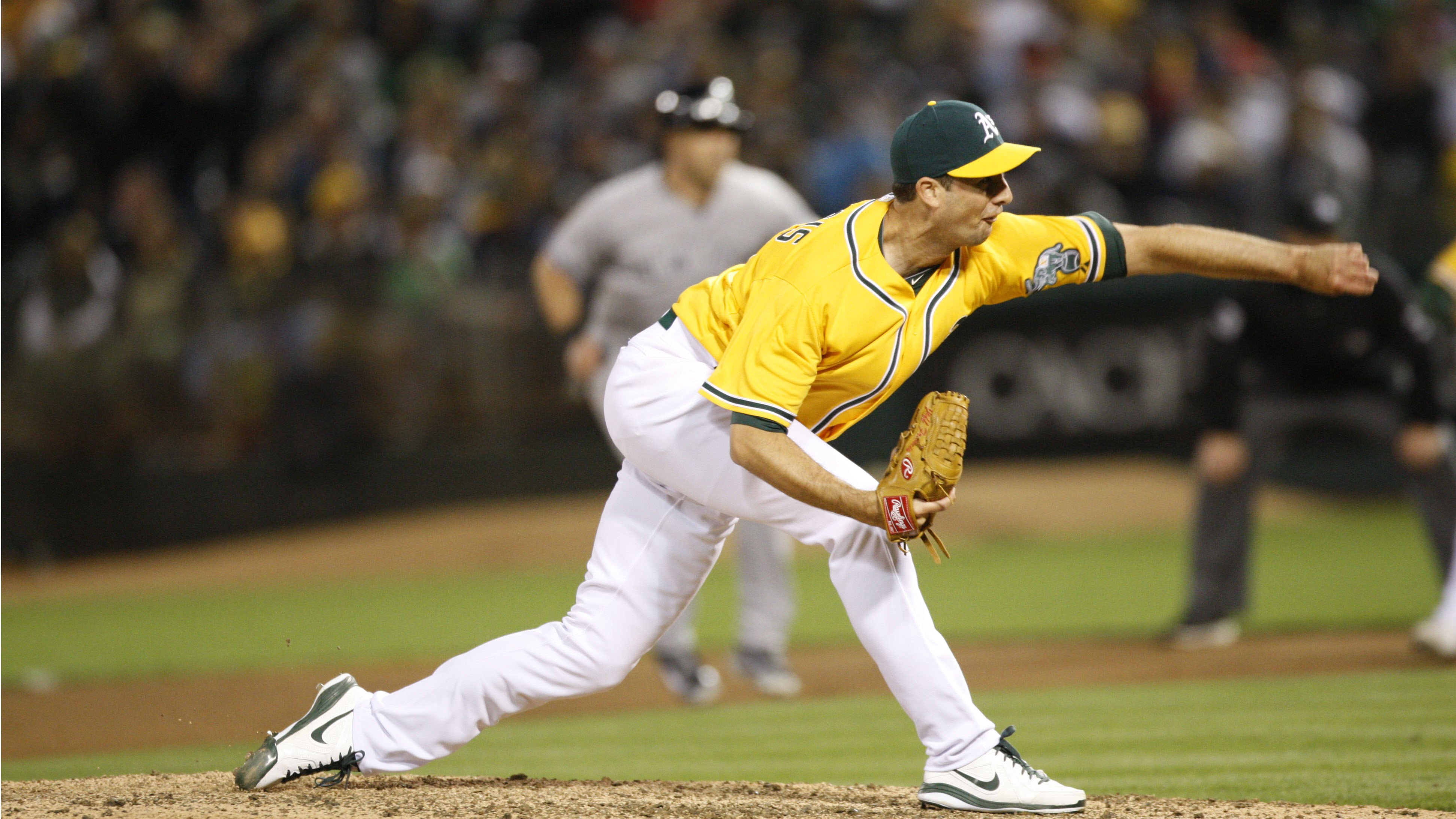 Jeff Francis moves on to his third team this season after being traded to the Yankees.