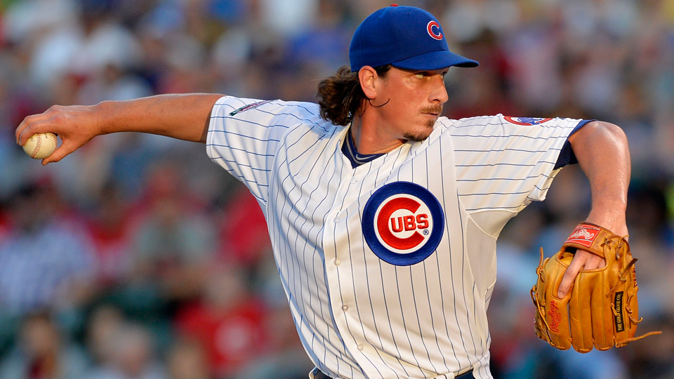 Jeff Samardzija has a 2.83 ERA and 135 ERA+ over 17 starts and 108 innings in what is his seventh and possibly final season with the Cubs.