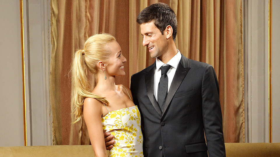 Jelena Ristic and Novak Djokovic originally planned to marry on June 14, but Djokovic postponed the wedding until after Wimbledon (and for good reason).
