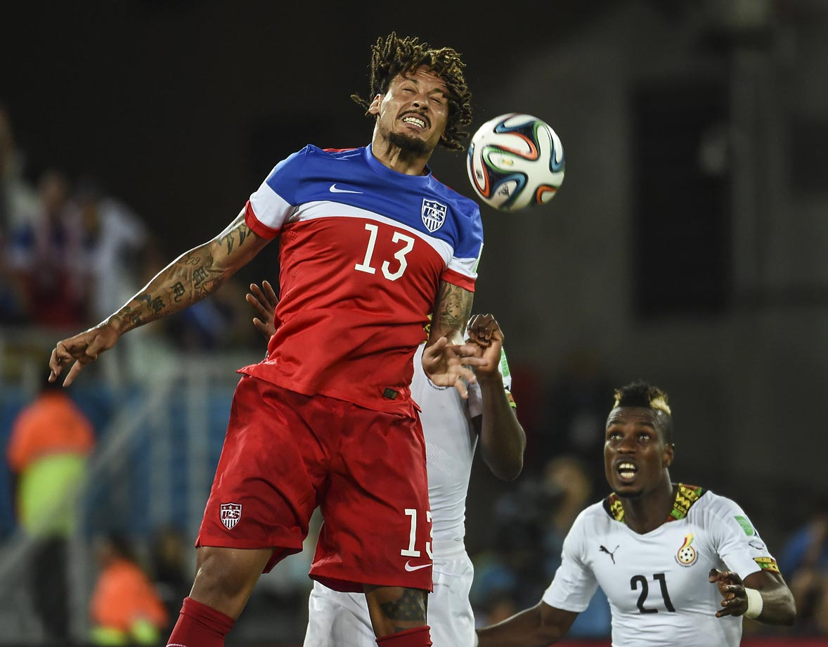 Jones, a central midfielder known for his aggressive play, grew up in a dangerous neighborhood in Frankfurt, Germany.  He debuted for the USMNT in 2010 under Bob Bradley.