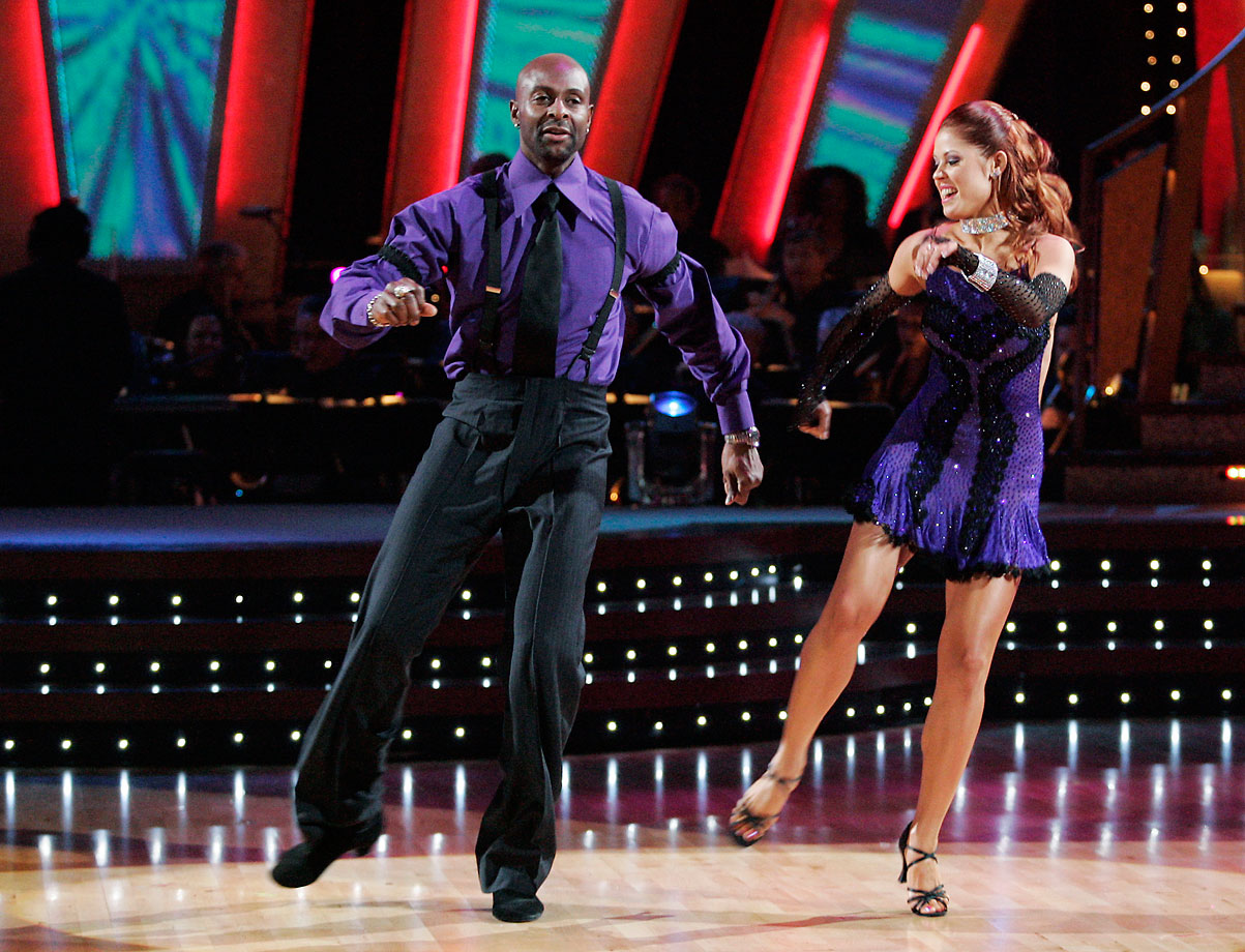 NFL Hall of Fame wide receiver Jerry Rice finished in 2nd place with dancing partner Anna Trebunskaya in Season 2.