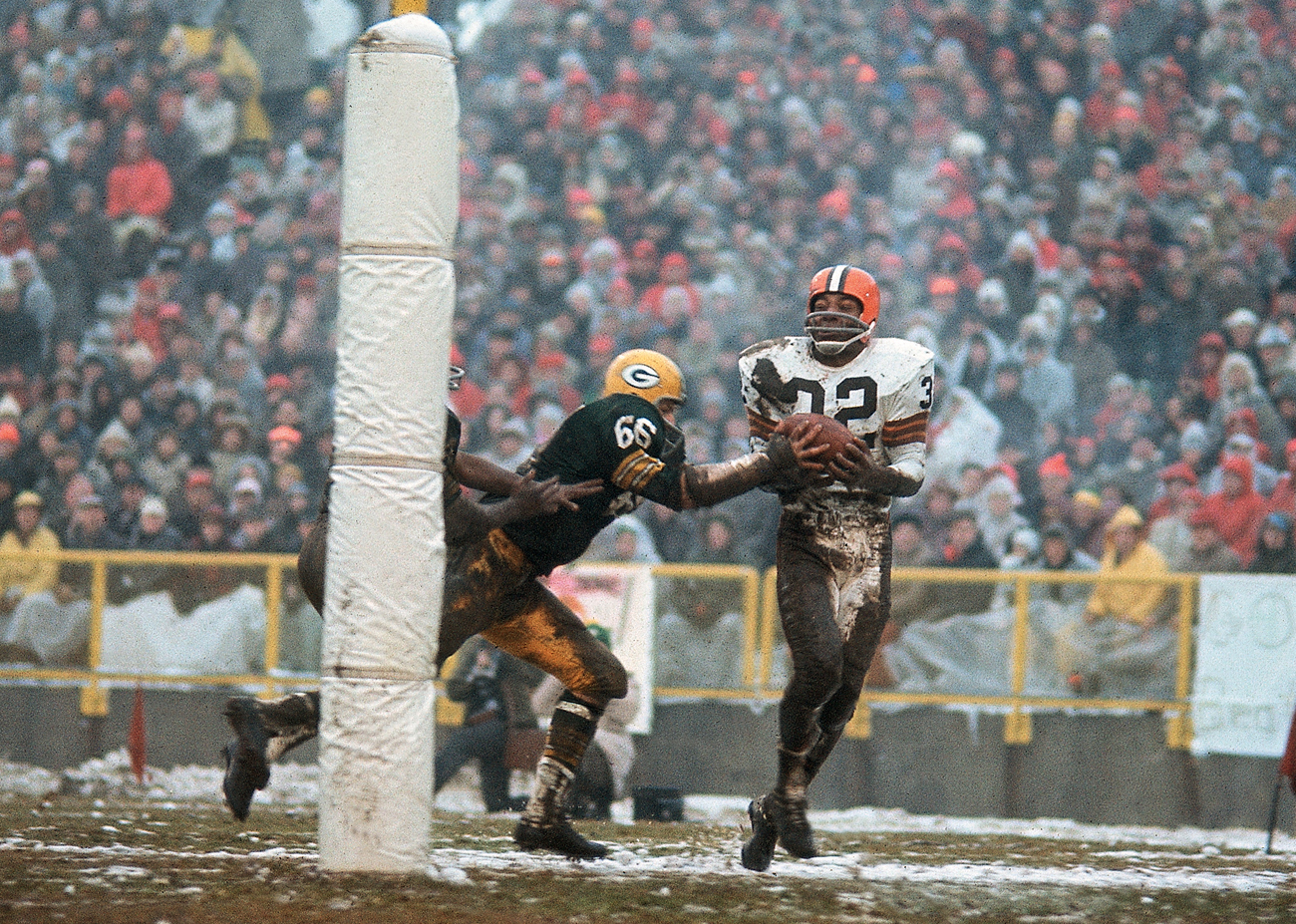 386fc1573 Why Jim Brown remains the standard of NFL greatness
