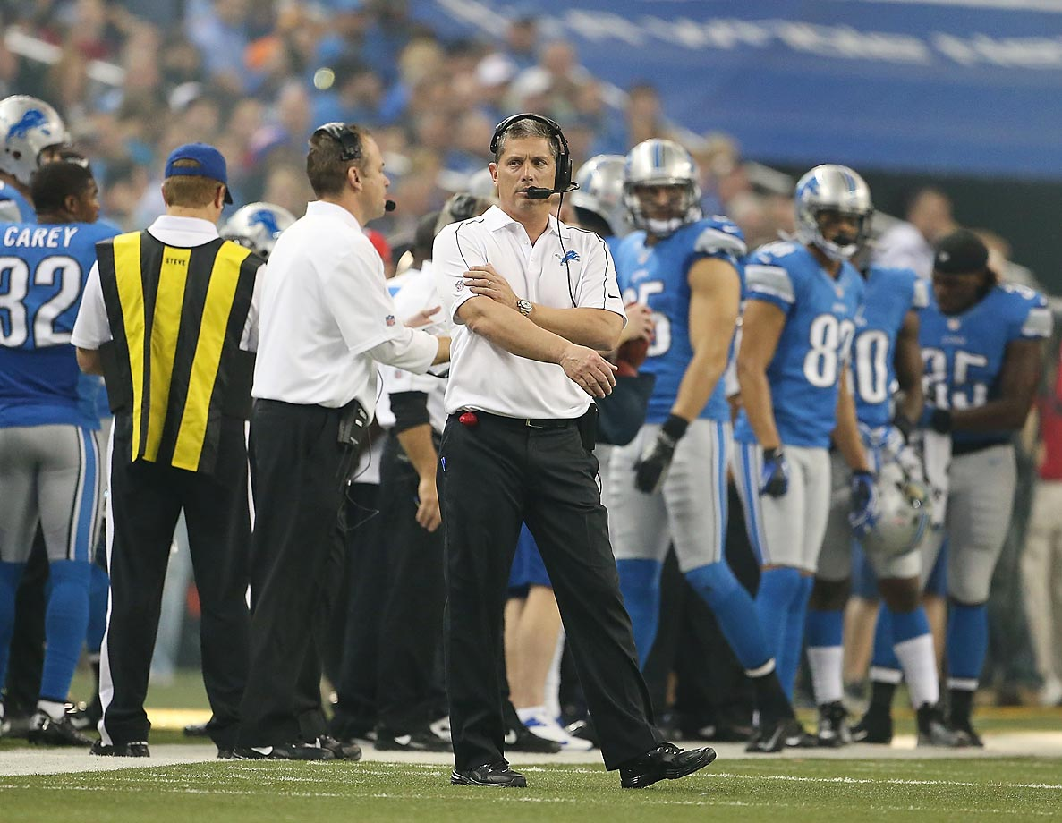 Under the old rules, if a coach throws a challenge flag on an automatically reviewed scoring play, he receives an unsportsmanlike conduct penalty and the review is negated. Jim Schwartz became a victim of the rule in the 2012 Thanksgiving Day game against the Texans, when he threw the flag after Justin Forsett ran for an 81-yard touchdown despite being down by contact. The rule change allows automatically reviewed plays to still be reviewed even if a challenge flag is mistakenly thrown.
