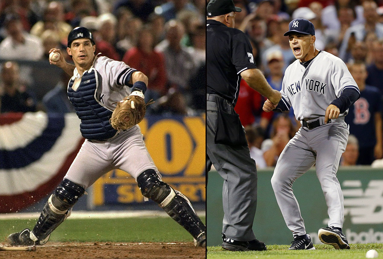 Joe Girardi spent 15 years as a big league catcher. Though he never hit more than eight home runs or 55 RBIs in a season, Girardi won three World Series rings with the New York Yankees (1996, 1998, 1999), caught a no-hitter (Dwight Gooden, 1999) and a perfect game (David Cone, 1999). Following his first season as a manager in 2006, the Marlins fired Girardi, despite him winning Manager of the Year. He returned to the Yankees as their manager in 2008 and led the franchise to a World Series championship in '09.