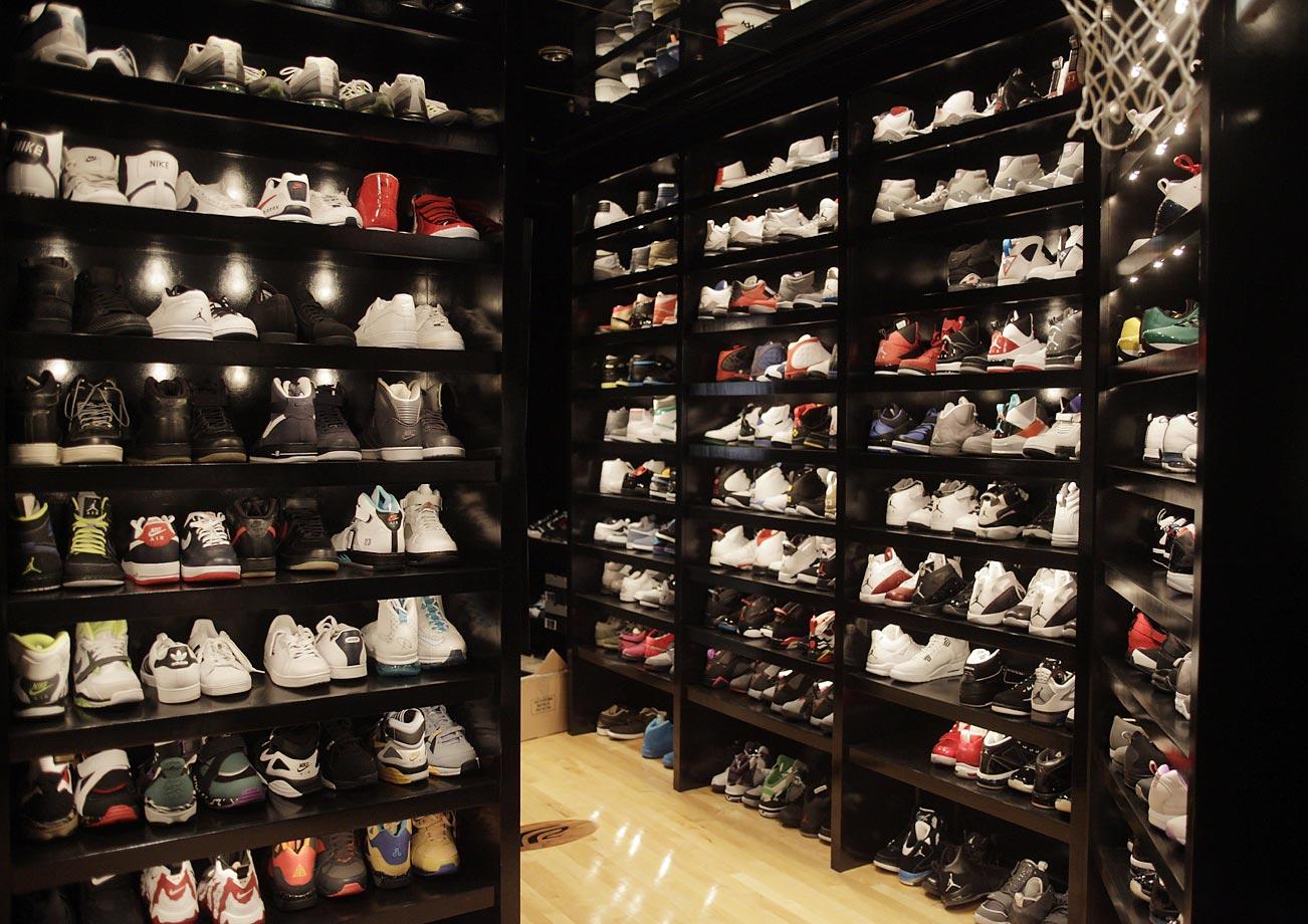 Joe Johnsons Sneaker Closet