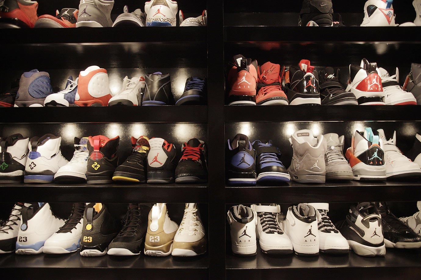 Joe Johnsonu0027s Sneaker Closet