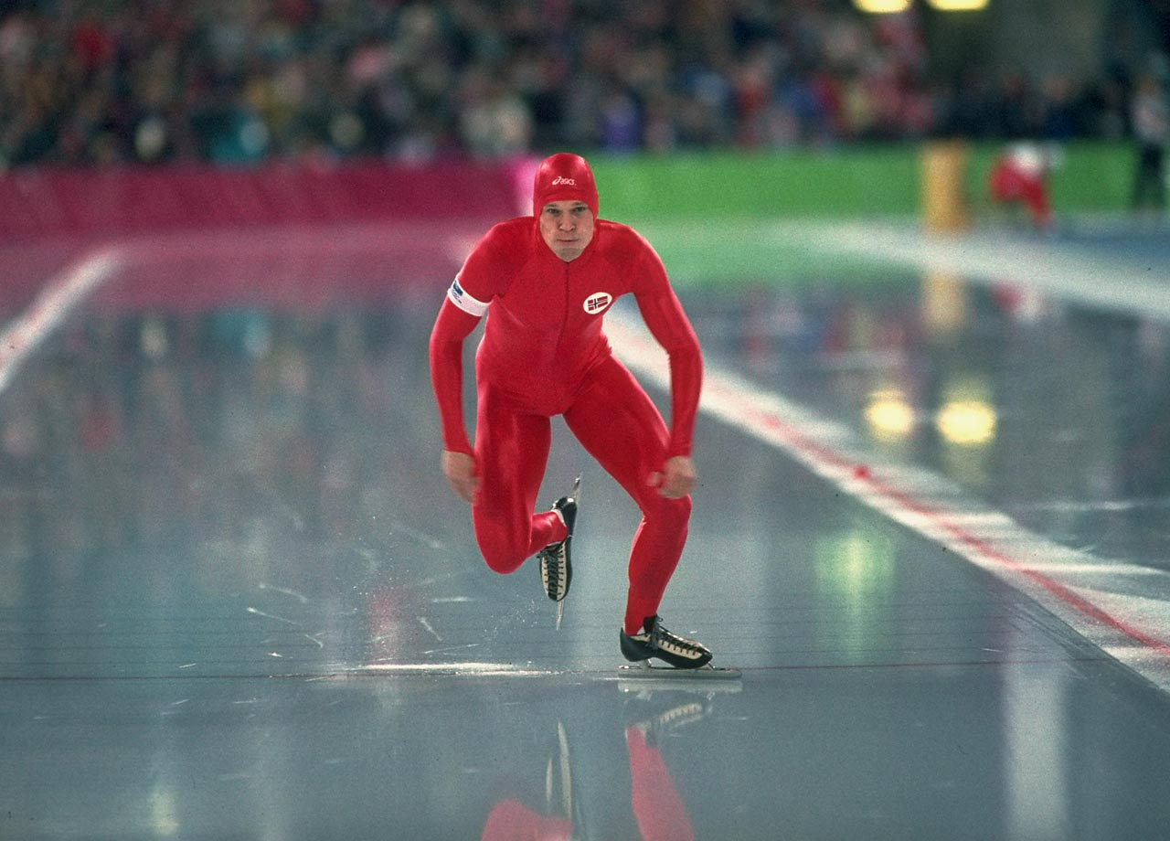Where was Olympic speed skater Johan Koss the day of the 1992 Olympic Games Opening Ceremony? In a hospital bed, of course. He was admitted to the hospital with an inflamed pancreas, but after passing a gallstone he took off and headed for the Games. After a rocky start, finishing seventh at the 5000-meter, and a week after his departure from the hospital, he made his way to the podium. He took one gold medal and one silver, at the 1,500-meter and 10,000-meter, respectively.                           In 1994 at his home games in Lillehammer, he dominated. He took three gold medals in the 1,500m, the 5,000-meter and 10,000-meter. He broke world records in each of those three races and became a Norwegian legend. --  Diana Gerstacker                           (SEE THE COMPLETE LIST OF 50 AT THEACTIVETIMES.COM)