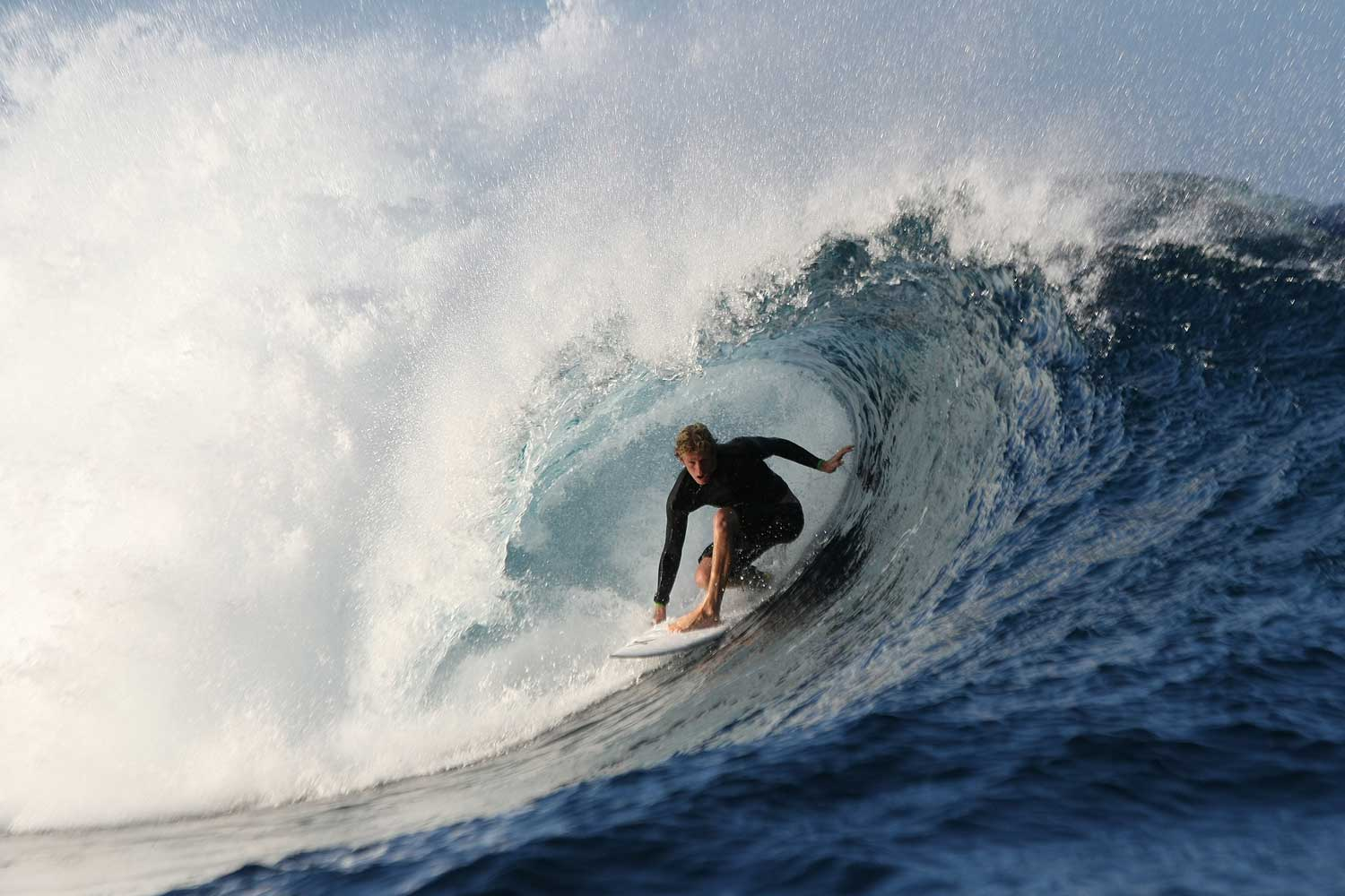 After growing up in Hale'iwa, Hawaii, Florence was featured in SURF Magazine when he was only 13-years-old. Ever since then, he's been leading the charge in competitive surfing, performing innovative tricks including the ridiculous alley-oop that he's quickly becoming known for.