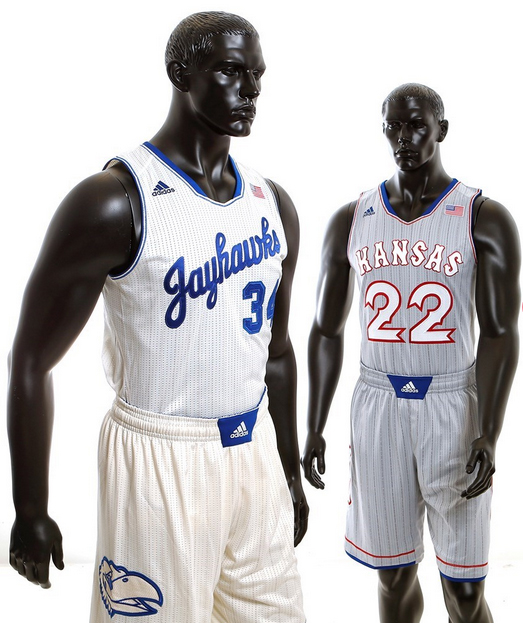 buy popular 9cbde b5fb5 tbt: A throwback to Kansas' throwback uniforms | SI.com
