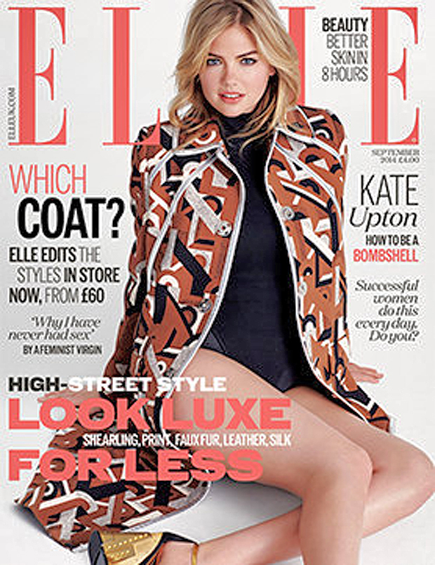 Kate Upton for ELLE UK, September 2014