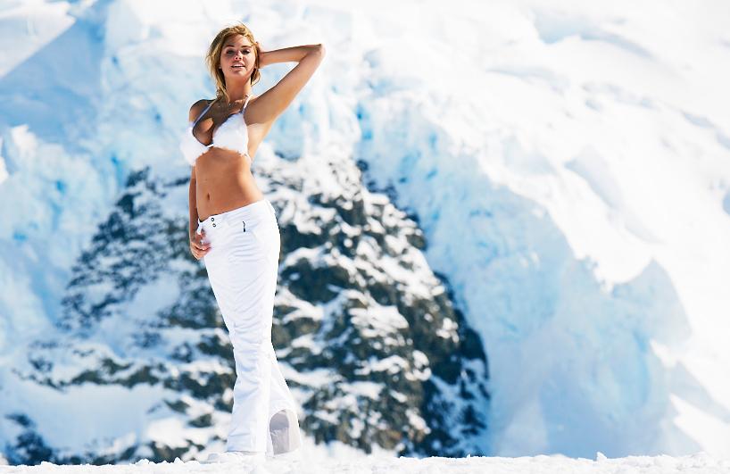 Kate Upton in Antarctica, SI Swimsuit 2013