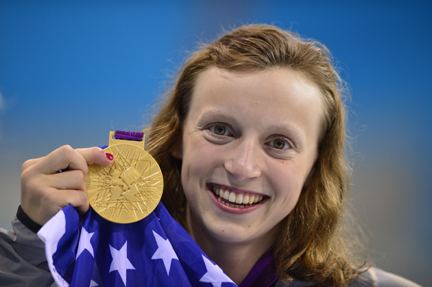 Katie Ledecky earned a  million dollar salary - leaving the net worth at 1 million in 2018