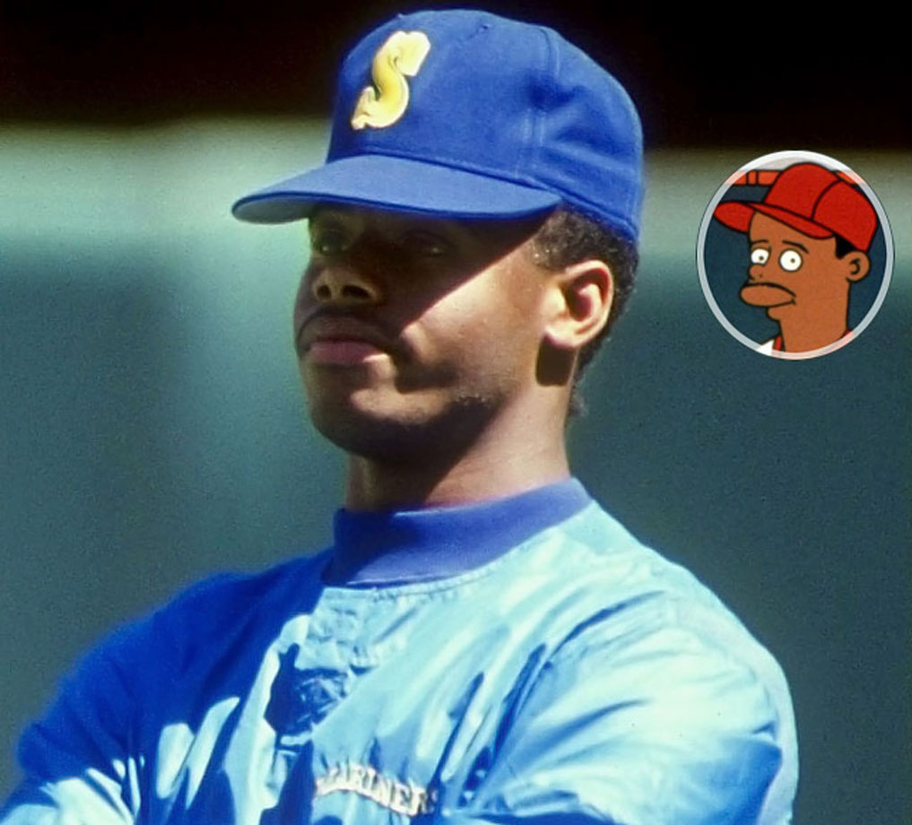 Memorable Moment — After drinking a spoonful of brain & nerve tonic. Griffey: ''Wow, it's like there's a party in my mouth and everyone's invited.'' Griffey proceeds to chug the bottle.