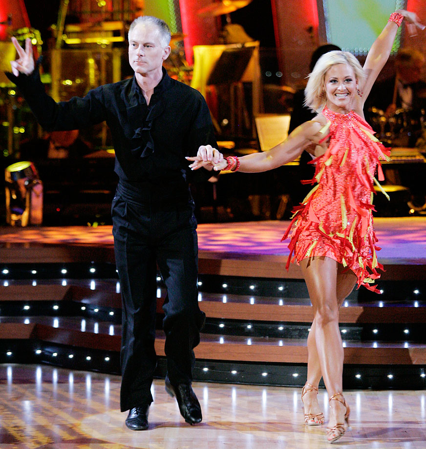 ESPN anchorman Kenny Mayne finished in last place with dancing partner Andrea Hale in Season 2.