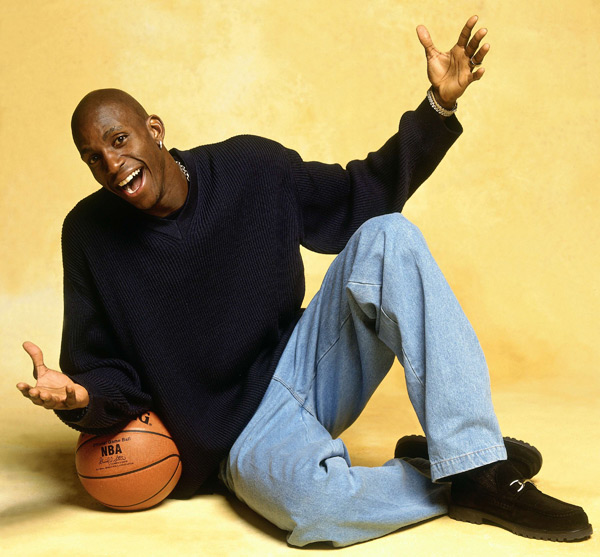 Kevin Garnett (1996) :: Getty Images