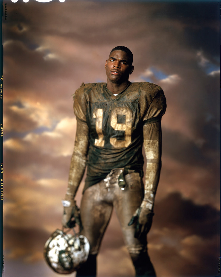 Keyshawn Johnson :: Walter Iooss Jr./SI