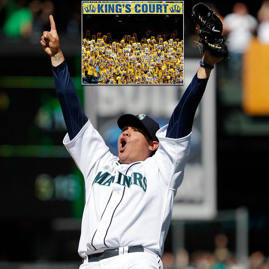 "Only 19 at the time of his MLB debut, Felix Hernandez has evolved into one of the best pitchers in baseball, earning him the nickname ""King Felix."" He won the AL Cy Young in 2010, when he finished the season with a 2.27 ERA."
