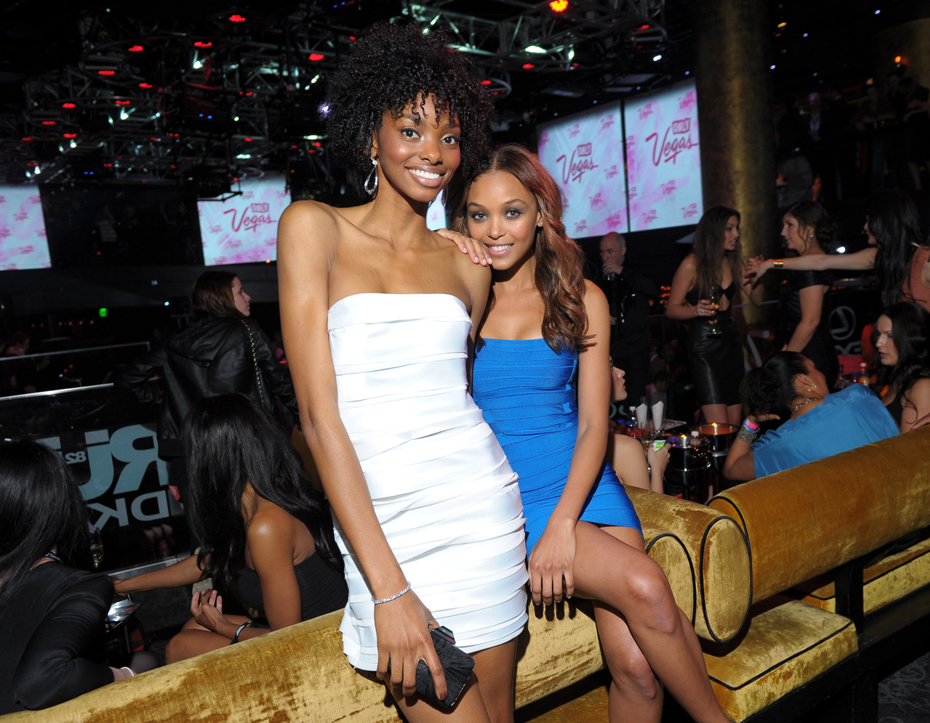 Kirby Griffin and Adaora :: Getty Images