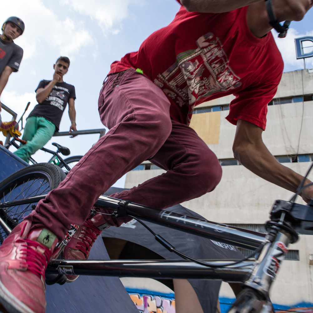 Ahmed Issawi of team Shred or Die at Urban Culture in Beirut, Lebanon on Saturday, June 7, 2014.