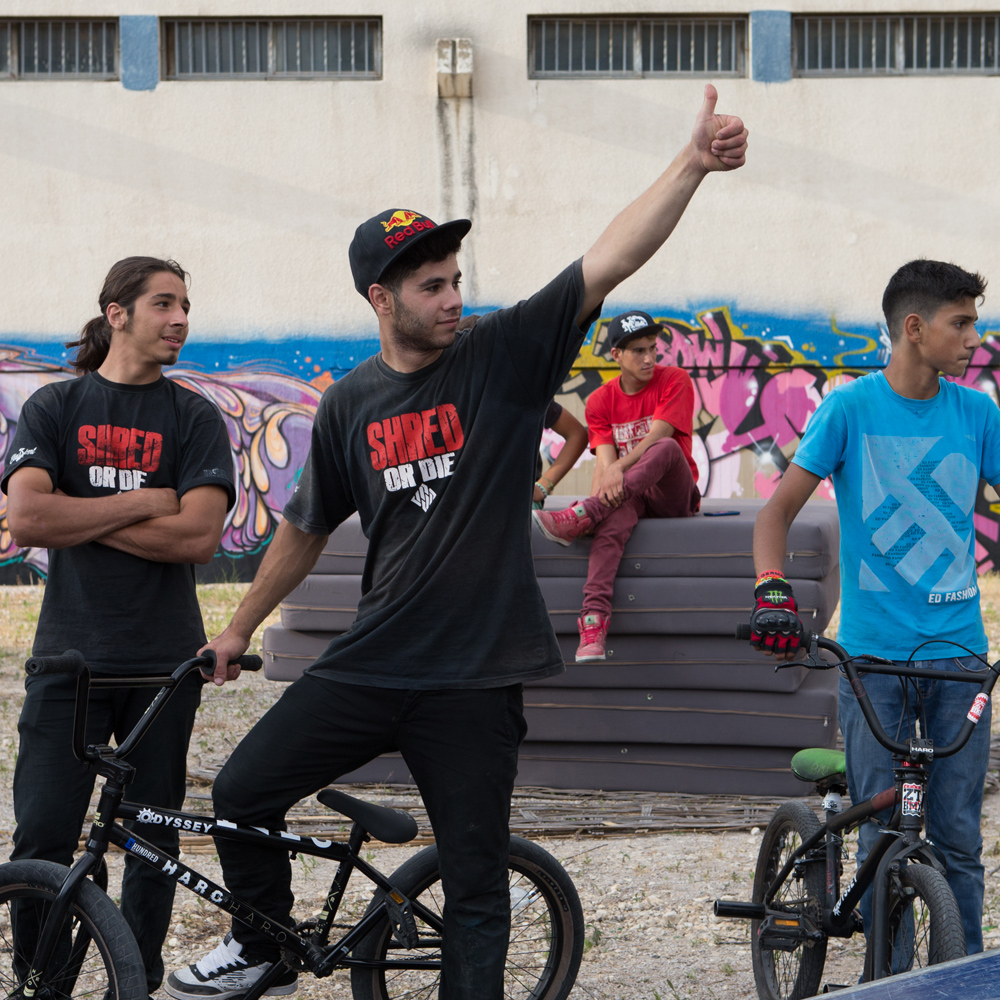 Urban Culture is an event that brings together Beirut's best extreme sports athletes, graffiti artists and DJs. The event is produced by 6th Sense Productions and sponsored by Red Bull, Vans, GoPro and Mike Sport.