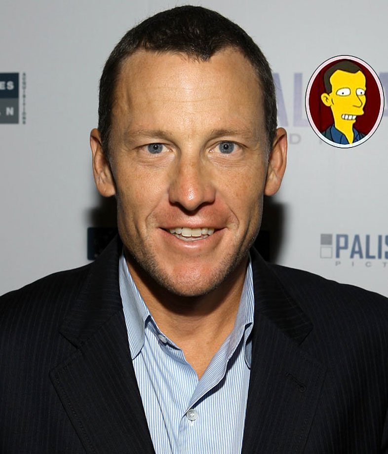 Memorable Moment — Lance Armstrong presents an award at the ESPYs alongside Fozzie Bear. Fozzie: ''Hey Lance, nice trousers. Did you win those at the tour de pants? Wakka wakka!'' Armstrong [angrily]: ''Yeah, well, I never thought you were funny. Ever!'' Armstrong picks up Fozzie and throws him off the stage, leaving the puppeteer's arm and hand exposed and mouthing: ''Wakka wakka! Wakka wakka?''