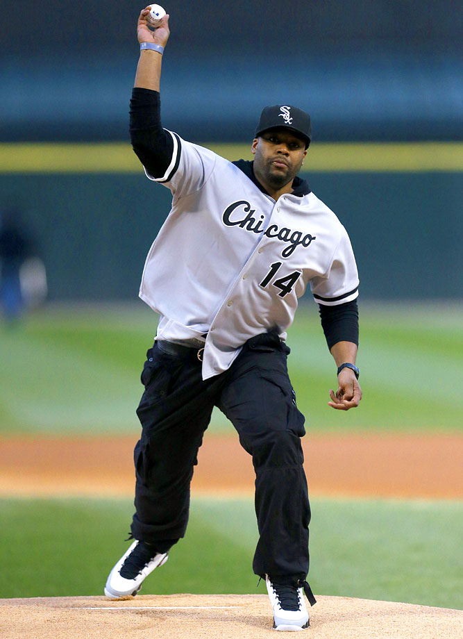 April 16 at U.S. Cellular Field in Chicago