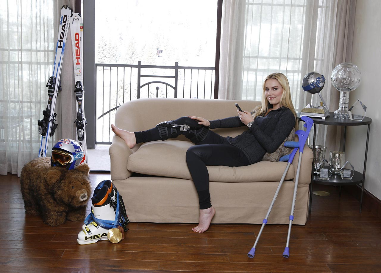 Throughout her career, Vonn has dealt with a variety of injuries. A devastating knee injury and its ongoing recovery will keep her out of the 2014 Sochi Games.