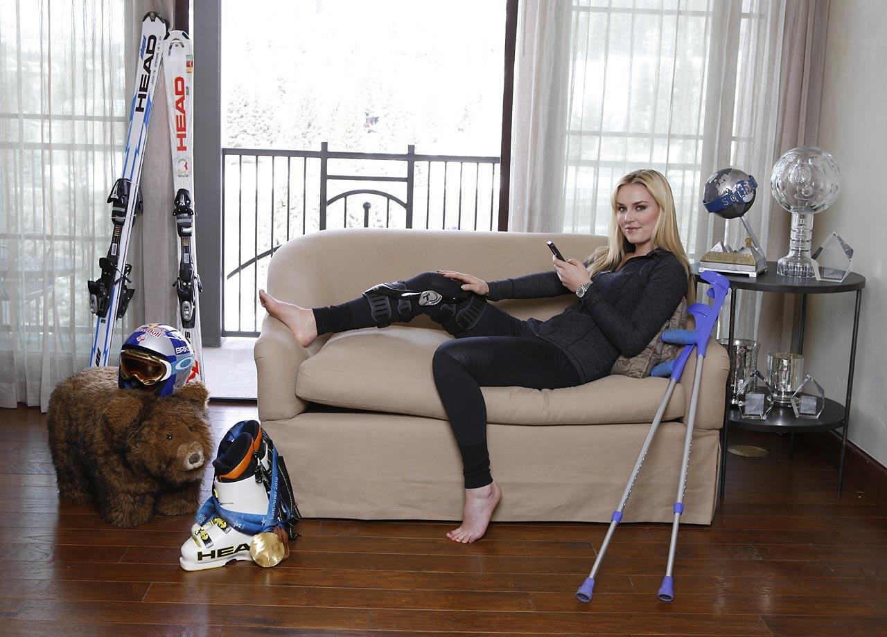 Lindsey Vonn Leg Injury