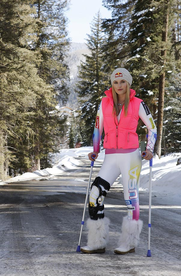 Vonn originally tore her ACL and MCL last February at the World Championships in Austria.
