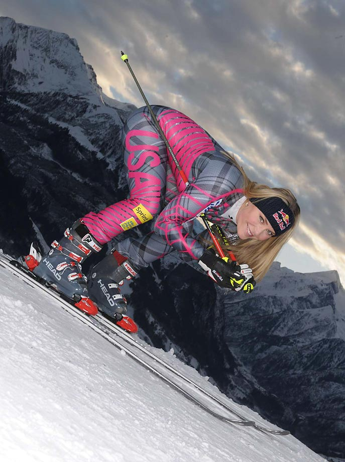 Vonn's success on the slopes and recognizability earned her a guest appearance on Law & Order in 2010.