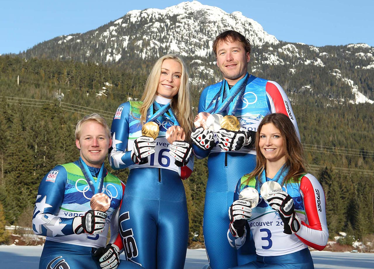 At the 2010 Vancouver Games, the U.S. Ski Team won a record eight medals, two of which came from Vonn.