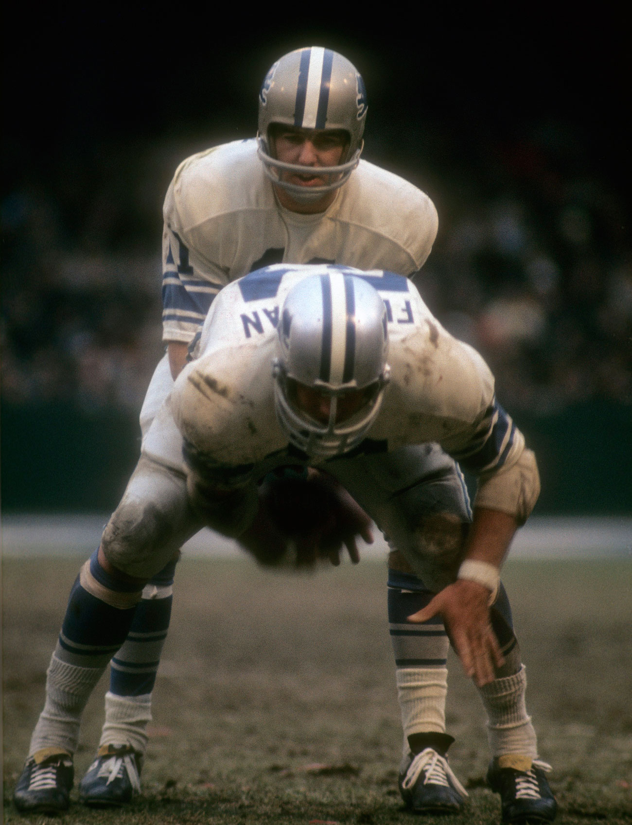 Greg Landry was a Thanksgiving staple under center in the late '60s and early '70s.