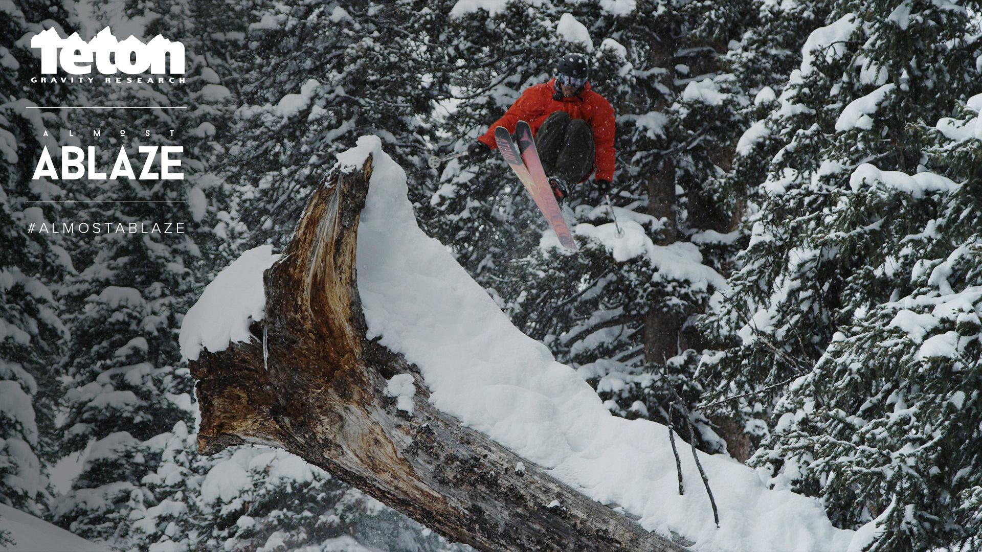 A log gap jump.