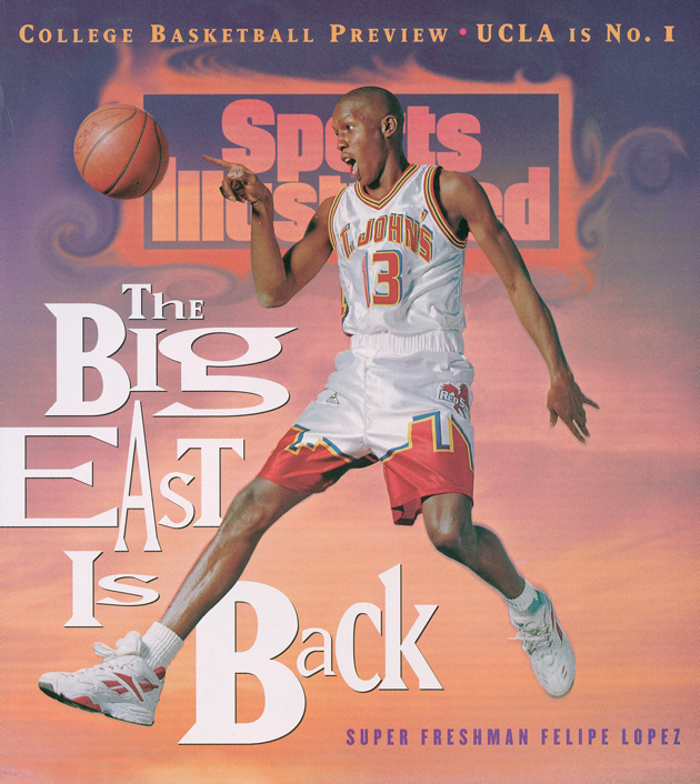 Felipe Lopez dons the cover of Sports Illustrated for the November 28, 1994 issue.