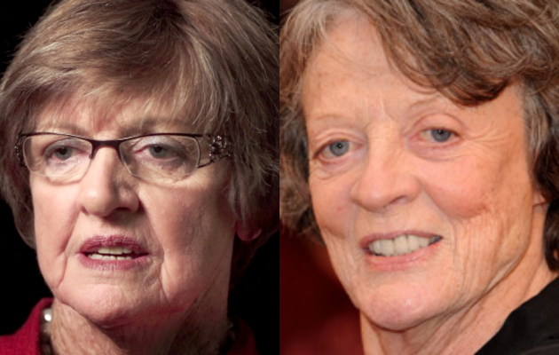Margaret (Smith) Court and Maggie Smith