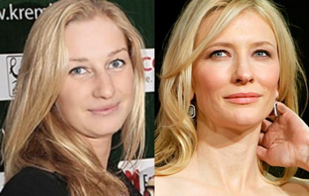 Ekatarina Makarova and Cate Blanchett