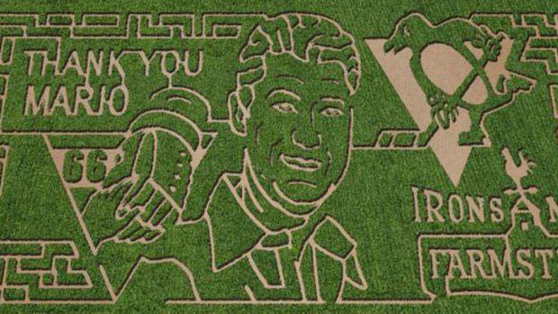 Mario Lemieux Corn Maze :: Iron Mills Farmstead