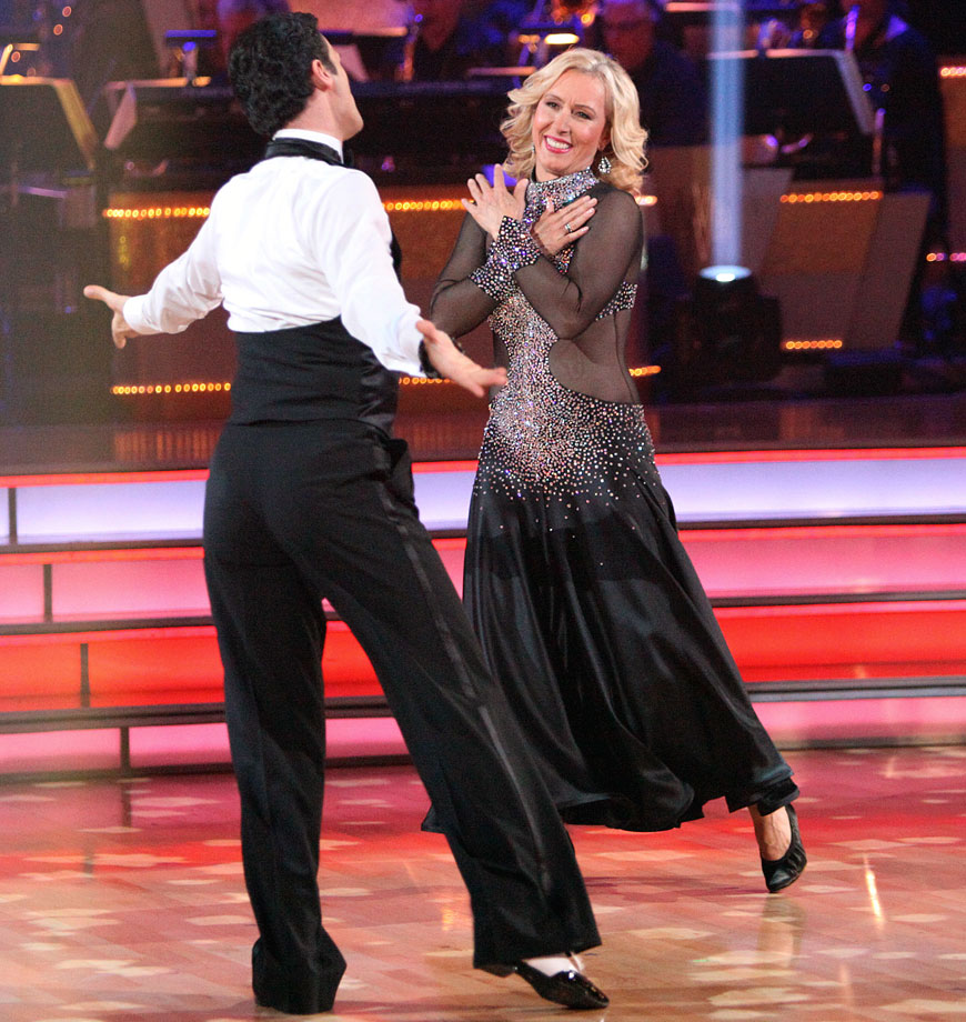 Retired professional tennis player Martina Navratilova finished in last place with dancing partner Tony Dovolani in Season 14.