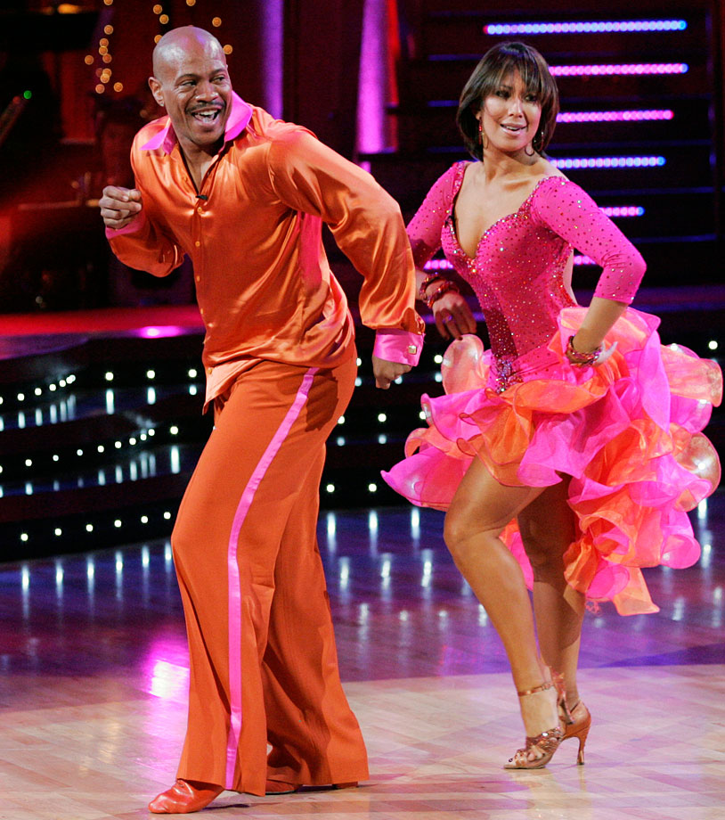 Olympic champion sprinter Maurice Greene finished in 5th place with dancing partner Cheryl Burke in Season 7.