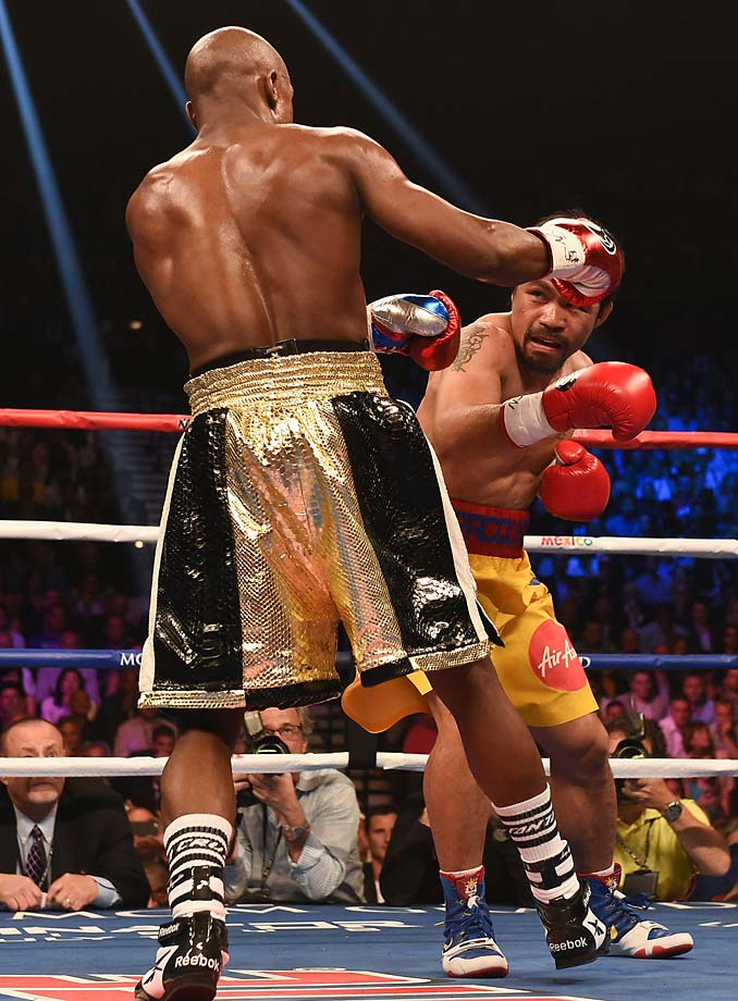 There were no knockdowns, and neither fighter seemed terribly hurt at any time. (AP)